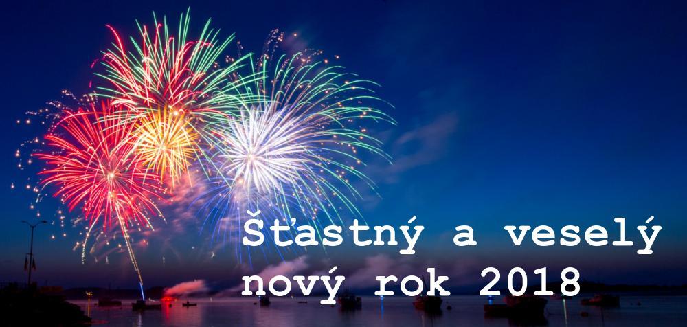 Stastny novy rok 2018