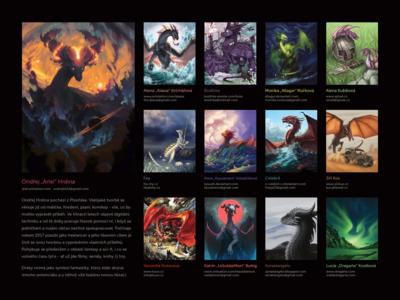 Kompletní přehled draků a jejich autorů