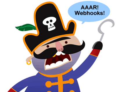 Webhooks pirate