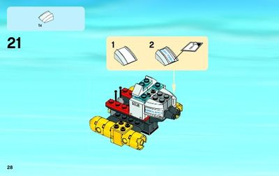 Lego City Starter Set 096