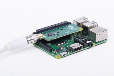 Raspberry Pi s nainstalovaným TV HATem