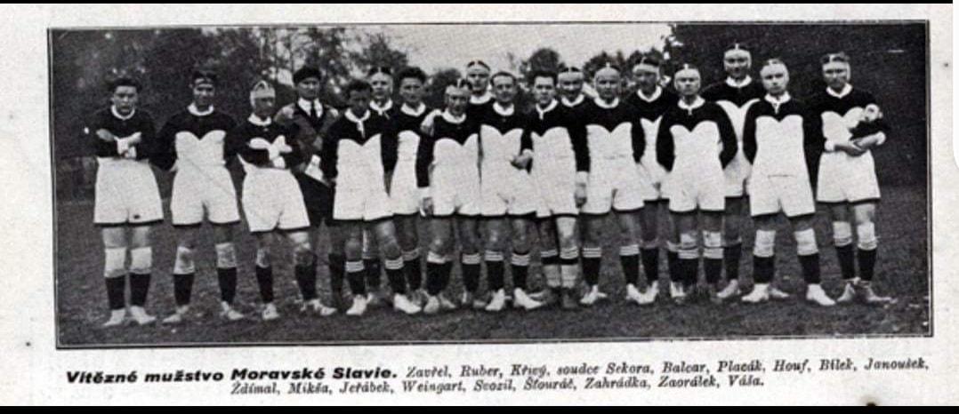 Mužstvo Moravské Slávie