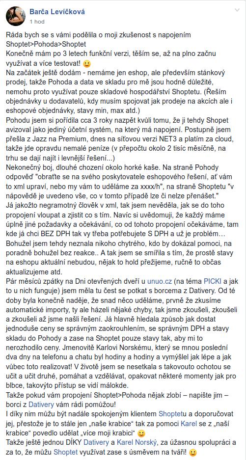 Barca levickova mushgo real facebook post