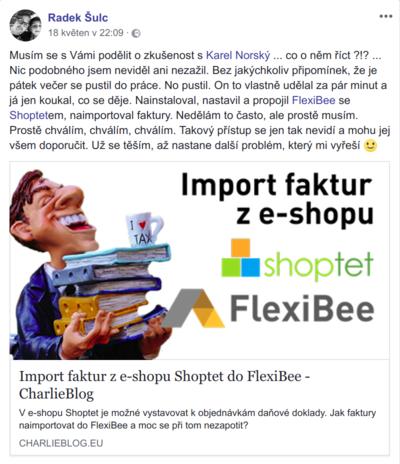 Radek sulc webimex real facebook post