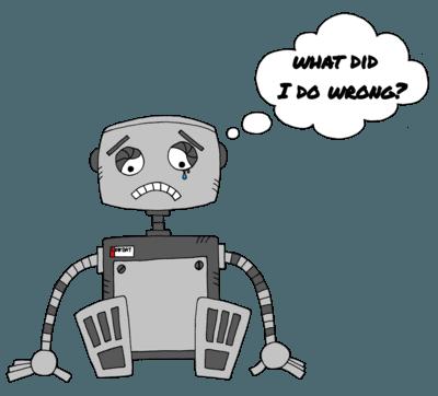 Smutný robot