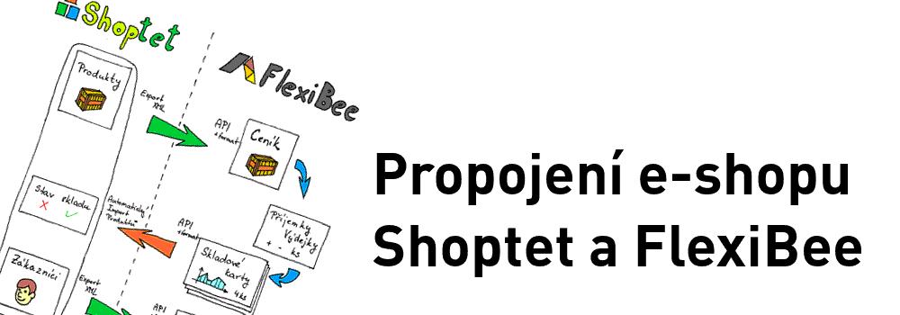 Propojení e-shopu Shoptet a FlexiBee